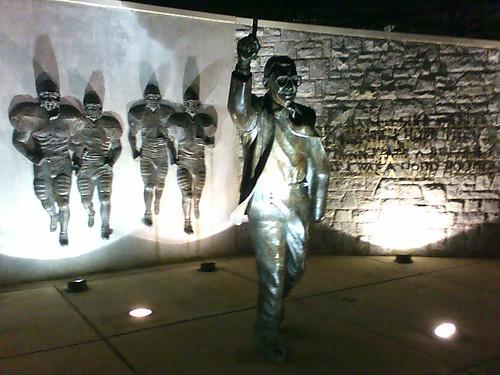 Joe Paterno statue - Beaver Stadium