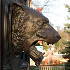 Kilgour Fountain - Lion