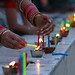 Baisakhi Lights at The Harimandir Sahib or The Golden Temple 3 by Raminder Pal Singh