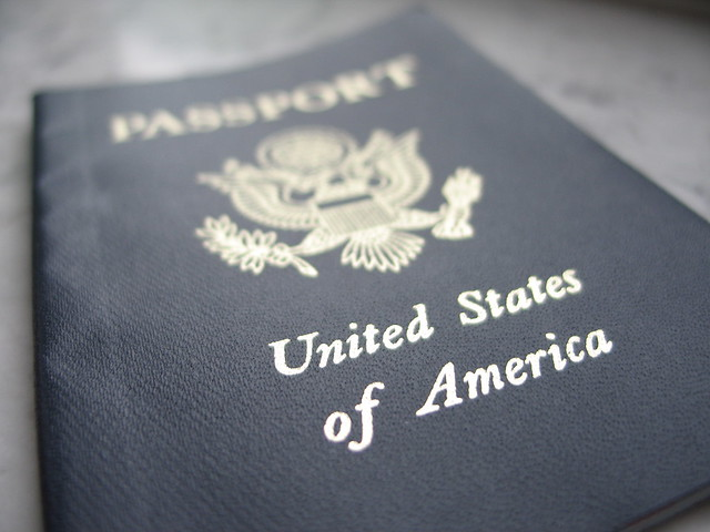 US Passport Cover