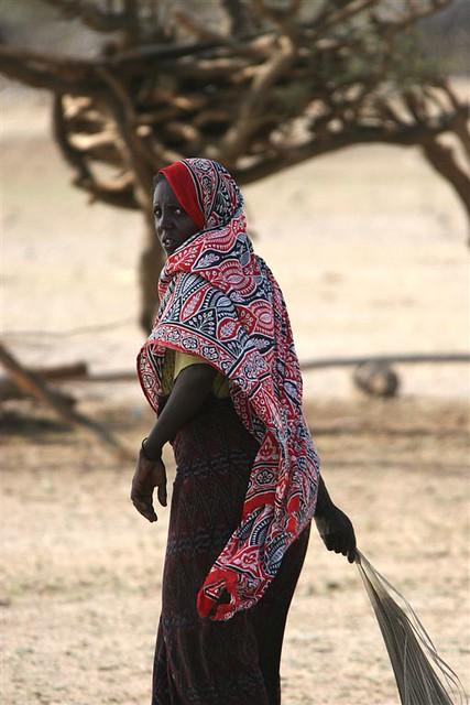 Afar Tribe Girl In Dan...