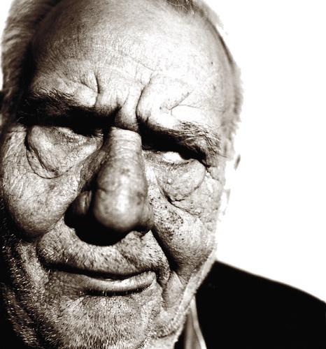 old man grumbling ...