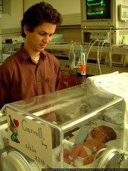 daniel visiting his newborn son in the nursery   dsc…