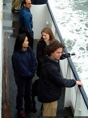 julie, amy, and daniel on the alcatraz ferry   dscf3848