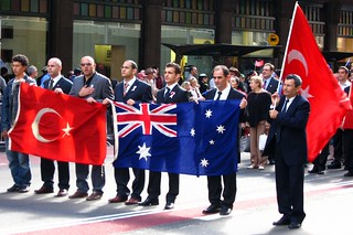 תמונה של WWI. turkey march war sydney australia veterans anzac