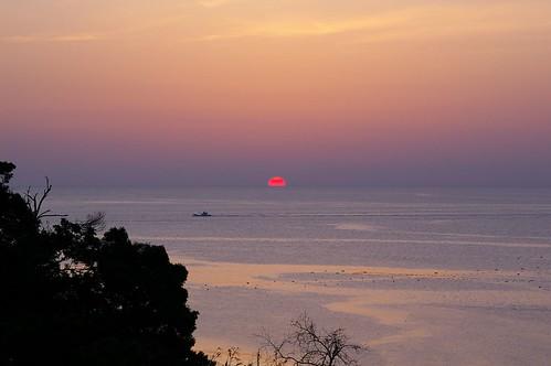sea sky japan sunrise dawn toyama nanao ishikawa fa77mm