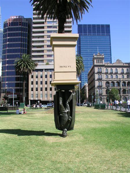 Statue of Charles La Trobe