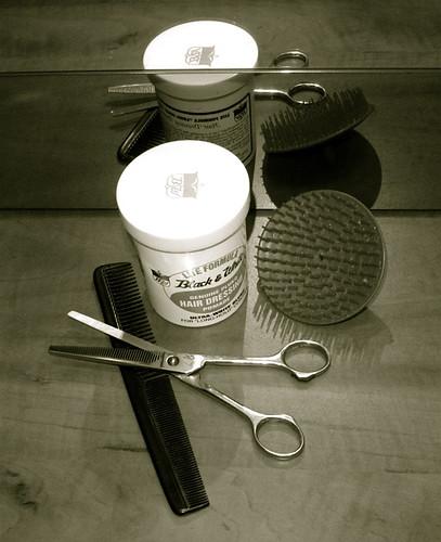 vintage haircutting 2