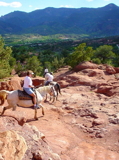 Garden Of The Gods Touring On Horseback Flickr Photo Sharing