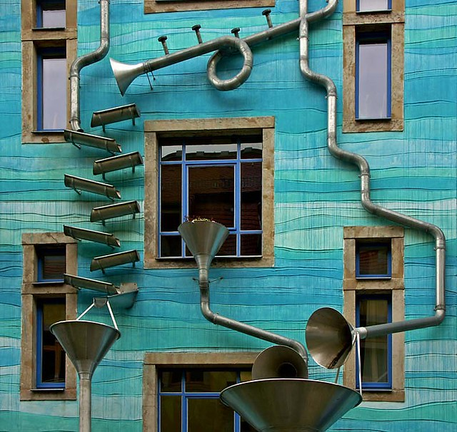 facade Kunsthofpassage, Dresden