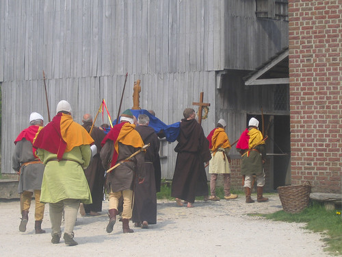 medieval procession