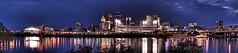 Cincinnati Night Panorama