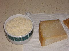 meal(0.0), breakfast(1.0), food(1.0), dairy product(1.0), parmigiano-reggiano(1.0),