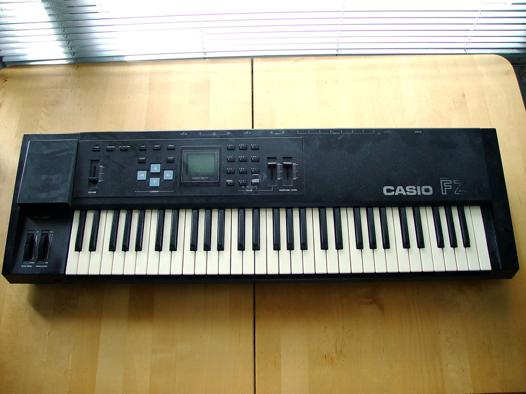 how to fix the display on casio fz-1