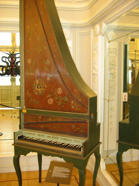 Rare Upright Harpsichord Flickr Photo Sharing