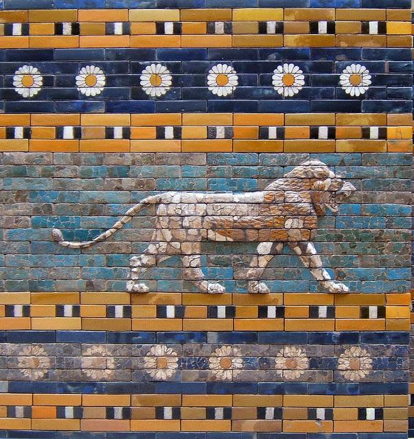 Puerta de Ishtar. Museo de Pérgamo. Berlín.