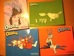 Oddica postcards