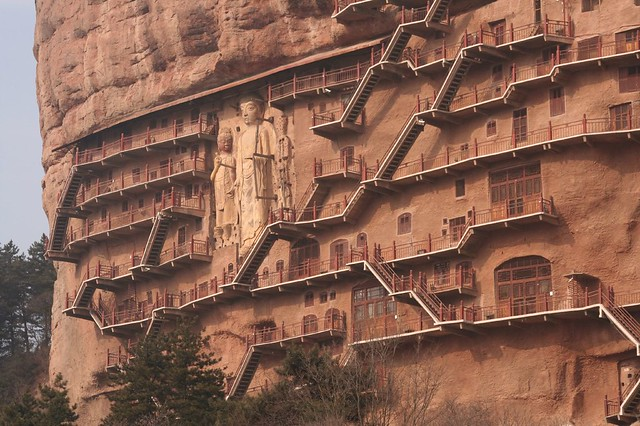 The Big Buddhas at Maijishan