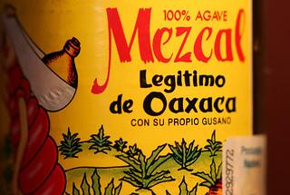 Mezcal from Oaxaca, Mexico