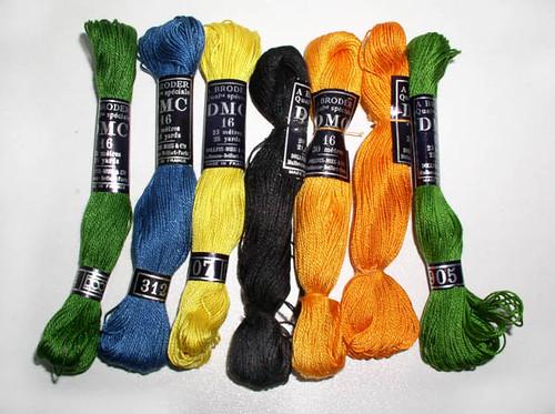 Amazon.com: DMC Traditions Crochet Cotton Size 10-Variegated: Arts