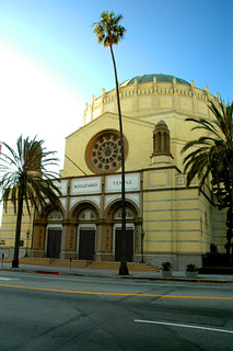Image of Wilshire Boulevard Temple. losangeles synagogue koreatown