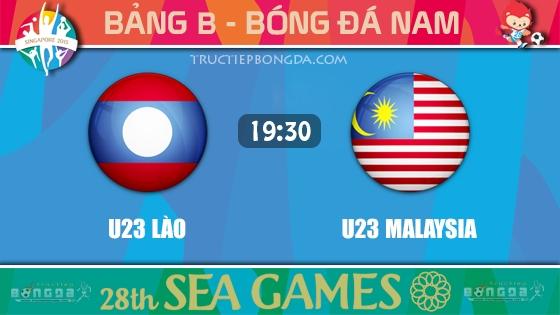 U23 Lào vs U23 Malaysia