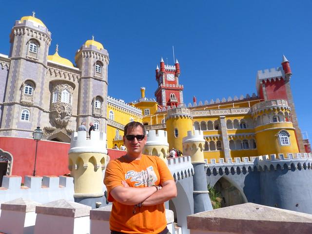 Sele en el Palacio Nacional de Sintra (Portugal)