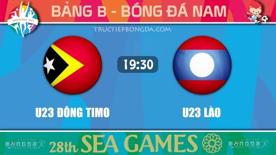 U23 Đông Timo vs U23 Lào