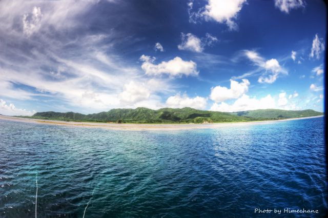夏の空!!!西表島まで遠征♪