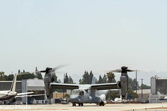 US Marine MV-22B Osprey VMM-166