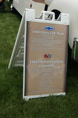 1948 Chevrolet COE Truck & 1964 Chevrolet Corvette Sting Ray Convertible