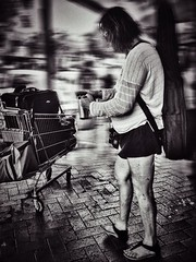 At Least He Had His Coffee, His Guitar & His Trolley