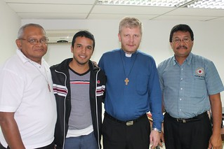 Abel Garcia, Eliezer Angel Mendoza, Sergio Fritzler and Elias Lozano.