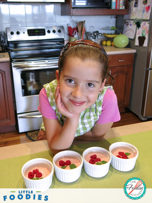 Recipes for Kids: Iced Raspberry Mousse