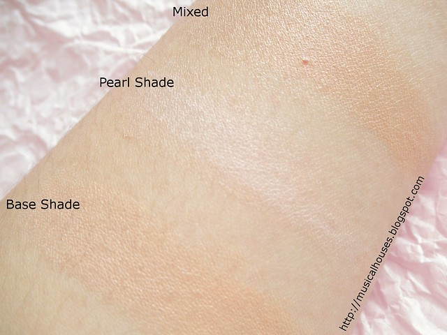 Etude House Any Cushion Pearl Aura Swatches