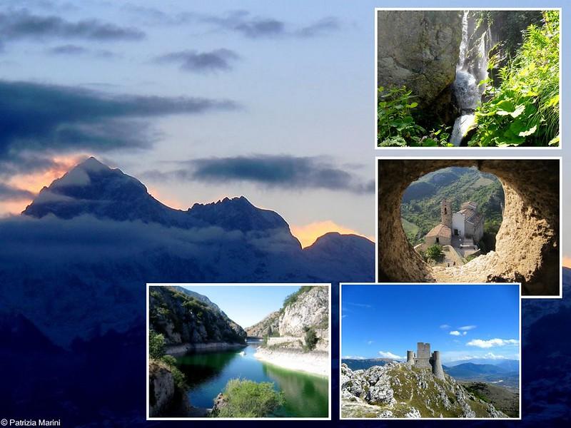 Collage monti - Patrizia