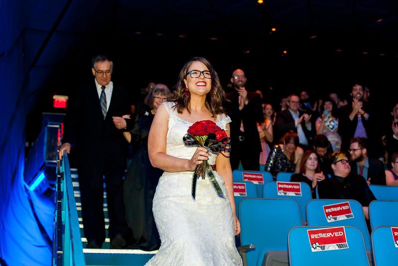 Movie-themed wedding from @offbeatbride