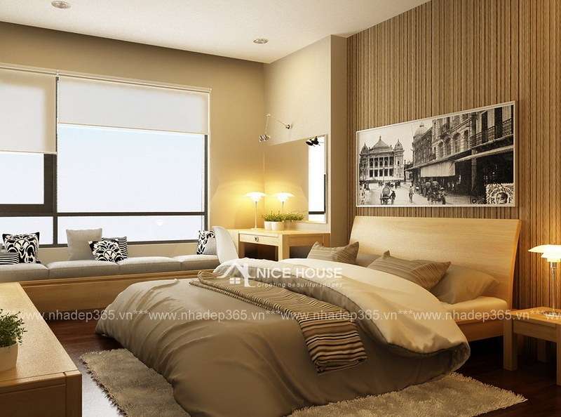 Thiết kế nội thất nhà anh Minh - Ngọc Khánh_03