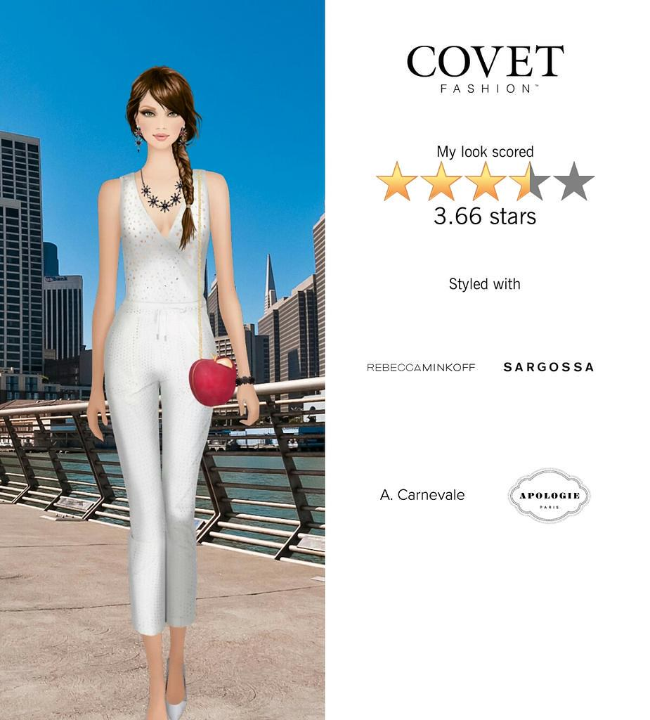 My Look Scored Stars In The Summer Accents Challenge In Covet Fashion