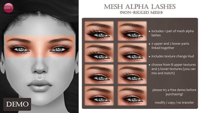 Mesh Alpha Lashes