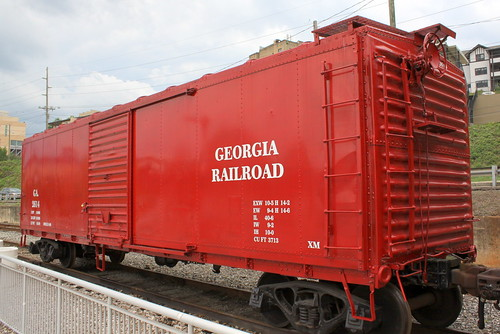 Georgia Railroad Boxcar #2614 - Knoxville, TN