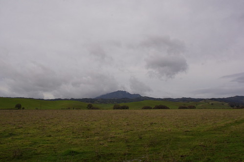 #2017-01-09 Clouds around Mount Diablo [#3]