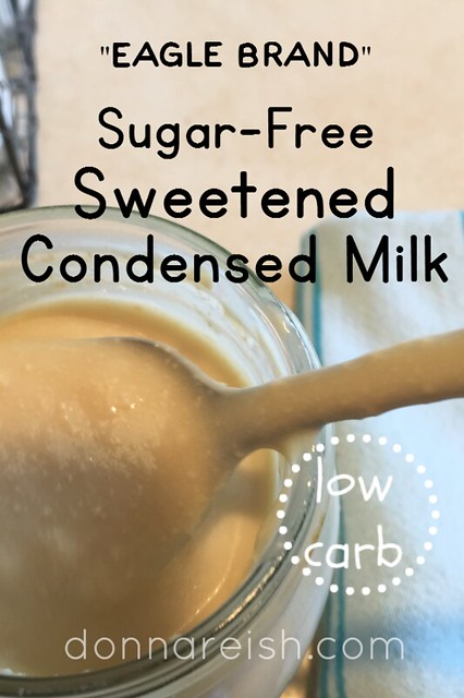 Eagle Brand Sugar-Free Low-Carb Sweetened Condensed Milk
