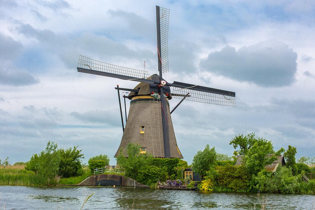 Netherlands. Kinderdijk