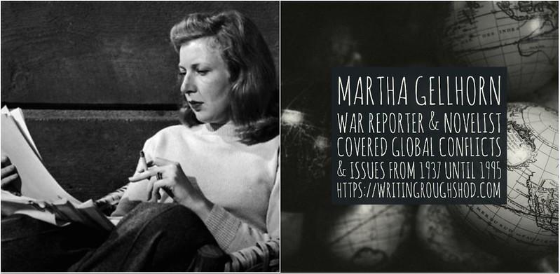 MARTHA GELLHORN #100travelHERS