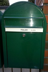 waste container(0.0), post box(0.0), letter box(1.0), green(1.0),