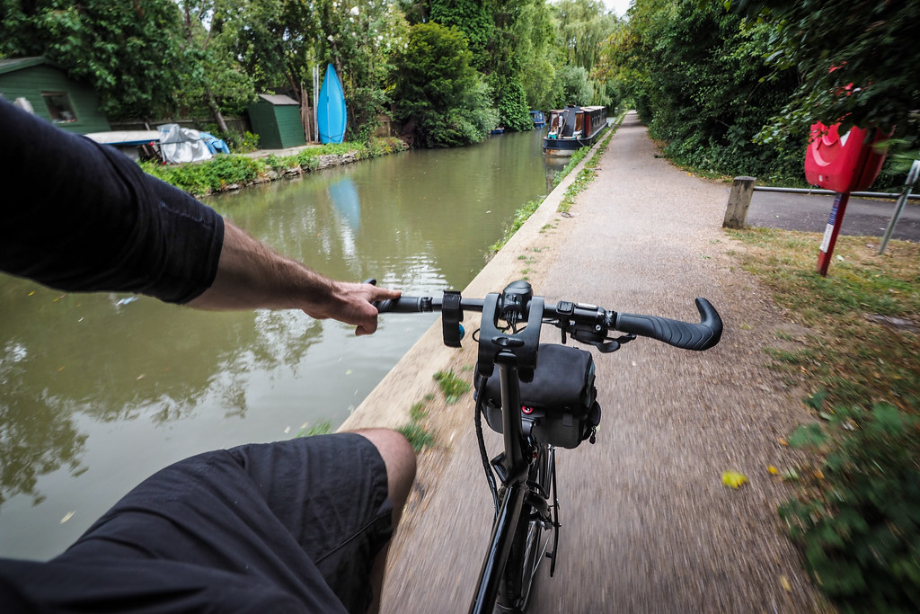 Cycling the Oxford Canal Path, Oxford, England