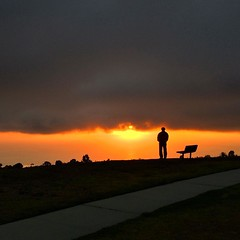 Cloudy #sunset in #palosverdes
