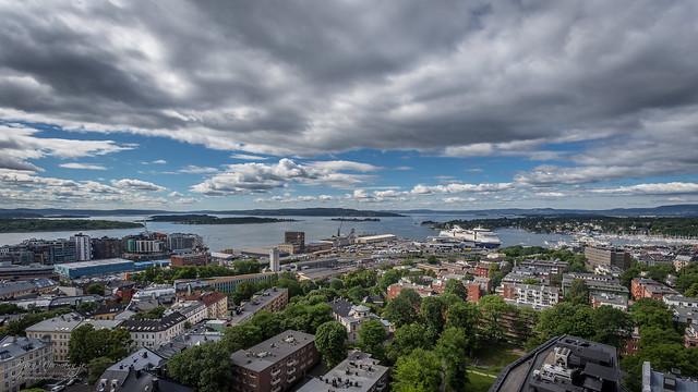 Filipstadkaia and the Oslofjord