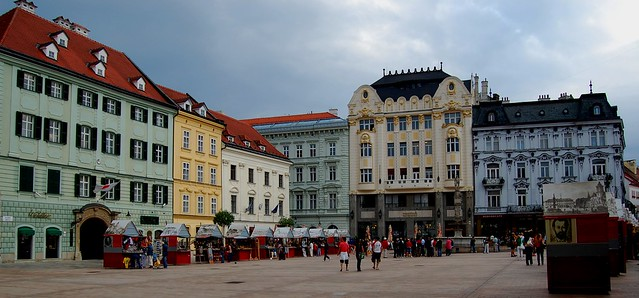 Old Town of Bratislava by CC user photohenning on Flickr